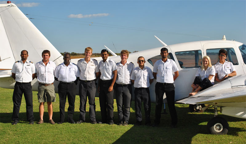 Learning to fly at Eagle Flight Academy South Africa