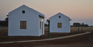 Accommodation units at the best flight school in South Africa